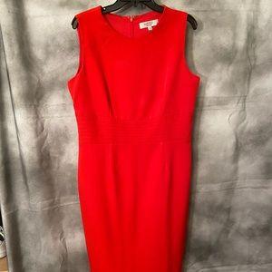 Red hot mama!  Kasper brand dress.